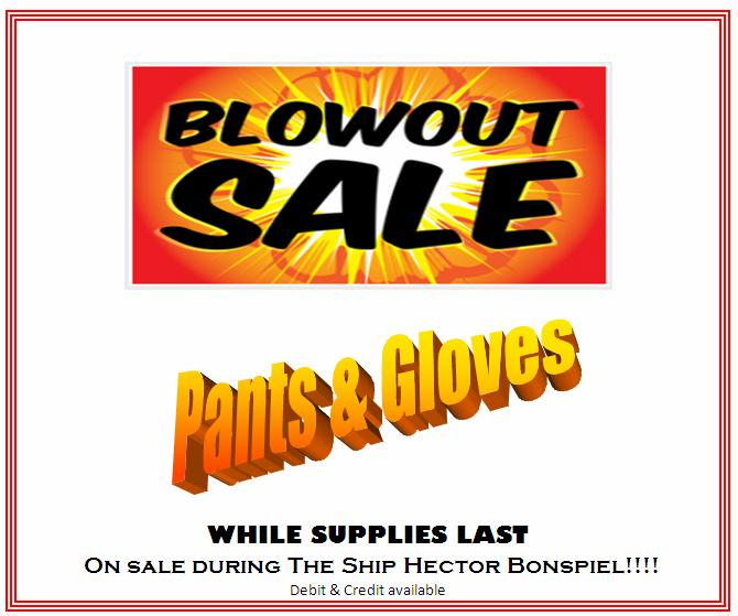 Clothing Blow Out Sale Jan